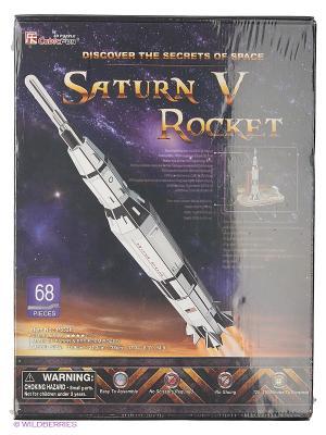 Игрушка Сатурн-5 CubicFun. Цвет: фиолетовый