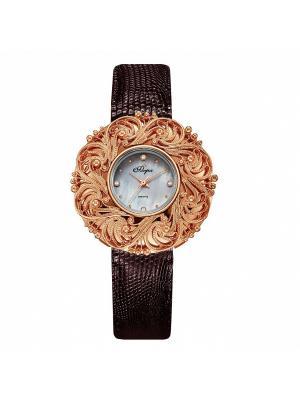 Часы Mikhail Moskvin. Цвет: желтый, коричневый
