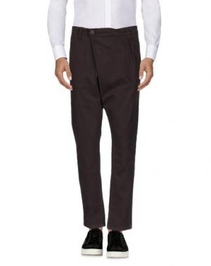 Повседневные брюки EN AVANCE. Цвет: баклажанный
