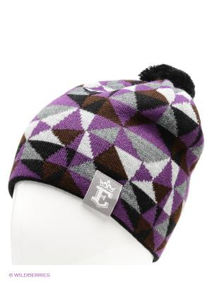 Шапка Ensis. Цвет: черный, темно-серый, фиолетовый