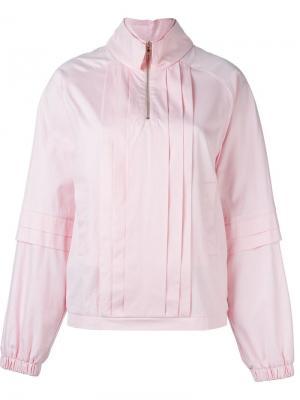 Плиссированный свитер Caitlin Price. Цвет: розовый и фиолетовый
