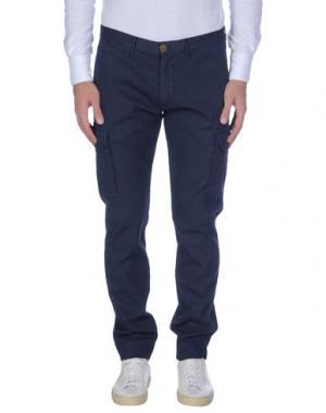 Повседневные брюки DOMENICO TAGLIENTE. Цвет: темно-синий