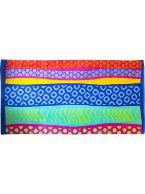 Полотенце BONITA. Цвет: голубой, розовый, зеленый