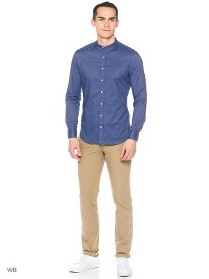 Рубашка - VOAL MANGO MAN. Цвет: индиго