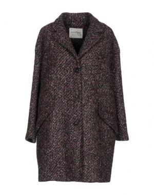 Пальто OTTOD'AME. Цвет: серый