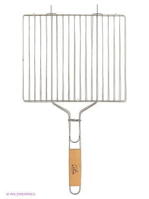 Решетка гриль Метиз. Цвет: серый