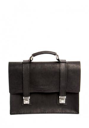 Портфель Handsel. Цвет: черный