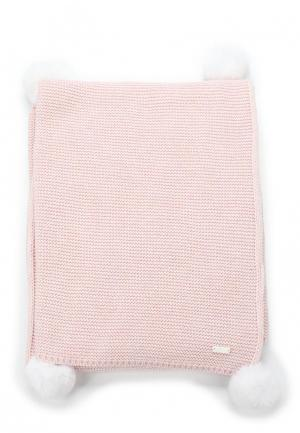 Плед Míacompany. Цвет: розовый
