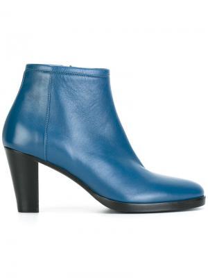 Side zip boots A.F.Vandevorst. Цвет: синий