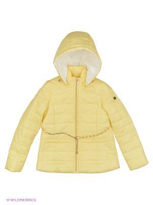 Куртка BORELLI. Цвет: желтый