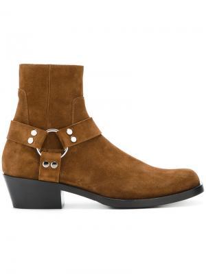 Ботинки по щиколотку Balenciaga. Цвет: коричневый