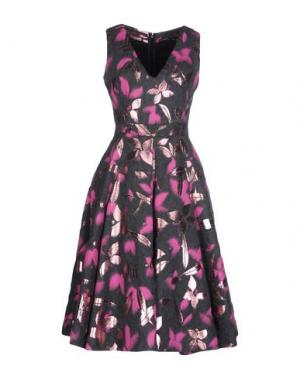 Платье до колена GAETANO NAVARRA. Цвет: свинцово-серый