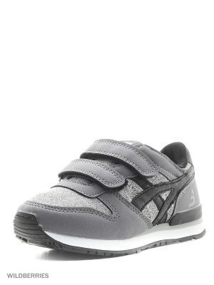 Кроссовки BASS3D. Цвет: серый