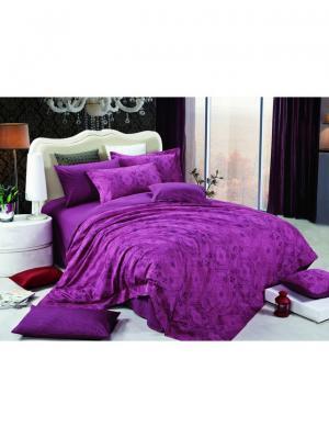 Комплект постельного белья ROMEO AND JULIET. Цвет: фиолетовый