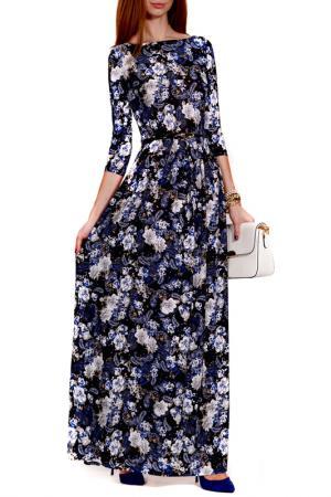Платье FRANCESCA LUCINI. Цвет: снежно-синий