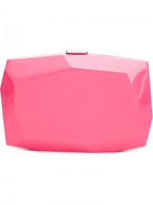 Клатч Dasha Monique Lhuillier. Цвет: розовый и фиолетовый