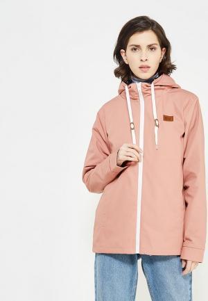 Куртка Billabong. Цвет: розовый