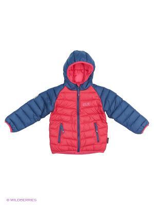 Куртка KIDS ZENON JACKET Jack Wolfskin. Цвет: фуксия