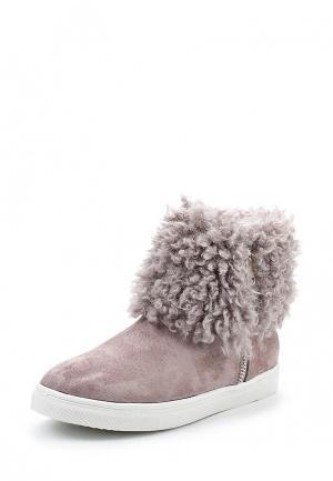 Ботинки LOST INK. Цвет: розовый