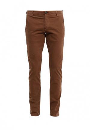 Брюки Selected Homme. Цвет: коричневый
