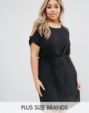 Koko Платье Plus. Цвет: черный