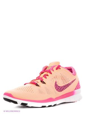 Кроссовки FREE 5.0 TR FIT 5 BRTHE Nike. Цвет: персиковый, розовый