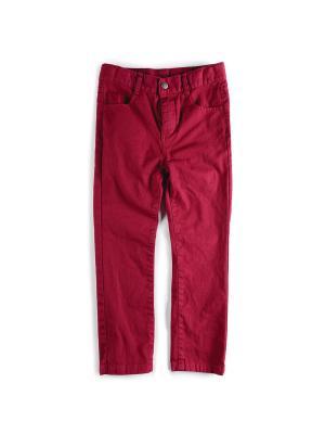 Брюки Appaman. Цвет: бордовый