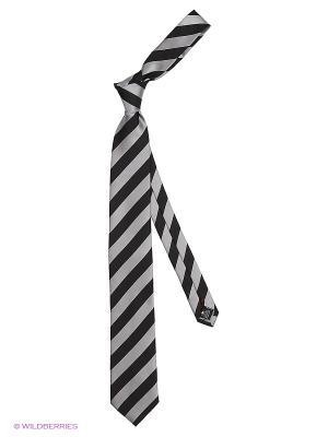 Галстук Alex DANDY. Цвет: белый, черный, серый