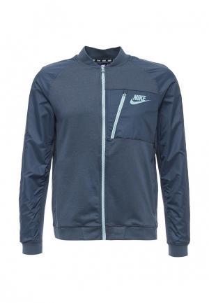 Куртка Nike. Цвет: синий