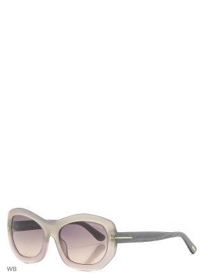Солнцезащитные очки FT 0382 80B Tom Ford. Цвет: розовый