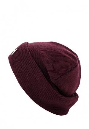 Шапка Gant. Цвет: бордовый