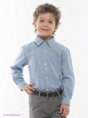 Рубашка Appaman. Цвет: голубой