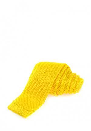 Галстук Churchill accessories. Цвет: желтый