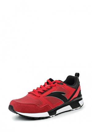 Кроссовки Anta. Цвет: красный