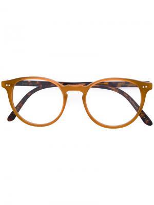 Monroe glasses Josef Miller. Цвет: жёлтый и оранжевый
