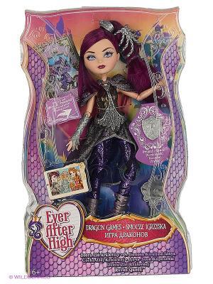 Кукла из серии Игра Драконов Ever after High. Цвет: фиолетовый, черный