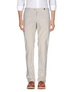 Повседневные брюки GIO ZUBON. Цвет: слоновая кость