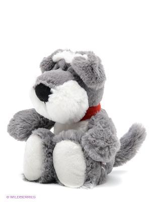 Мягкая игрушка Шнауцер NICI. Цвет: серо-зеленый, белый