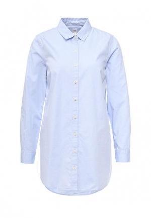 Рубашка Gap Maternity. Цвет: голубой