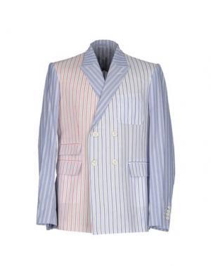 Пиджак GIULIANO FUJIWARA. Цвет: небесно-голубой