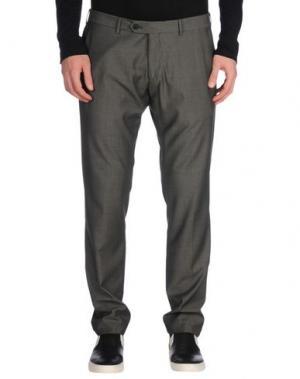 Повседневные брюки ROBERTO PEPE. Цвет: свинцово-серый
