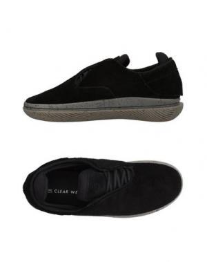 Низкие кеды и кроссовки CLEAR WEATHER. Цвет: черный
