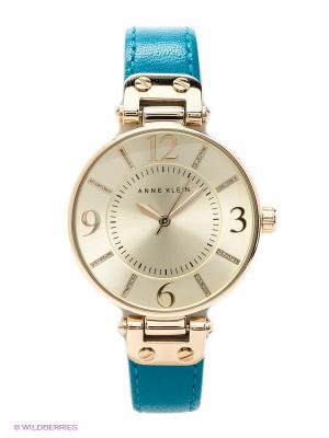 Часы ANNE KLEIN. Цвет: золотистый, бирюзовый
