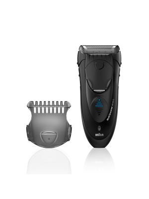 Электрическая бритва MG 5010 Wet & Dry Braun. Цвет: черный