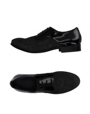 Обувь на шнурках ALYSI. Цвет: свинцово-серый
