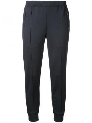 Спортивные брюки с полосками по бокам Être Cécile. Цвет: чёрный