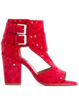 Ботинки с вырезными деталями Laurence Dacade. Цвет: красный