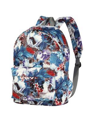 Рюкзак NOSIMOE. Цвет: синий, белый, бордовый