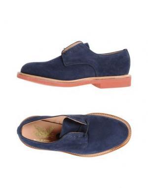 Обувь на шнурках MARK MCNAIRY. Цвет: темно-синий