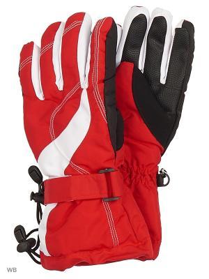Перчатки Mini. Цвет: красный